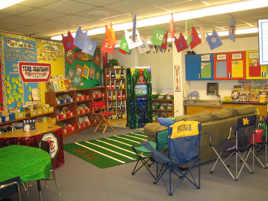 Beautiful Elementary Classrooms ~ Team sports beth newingham s teaching resources